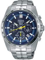 Pulsar PZ5001 Men's Solar Chronograph Wrist Watch