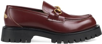 Gucci loafers with Horsebit and lug sole