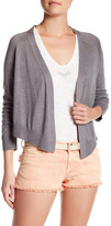 Zadig & Voltaire Monday Open Front Silk Blend Cardigan