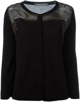 Alberta Ferretti paneled cardigan - women - Silk/Cotton/Polyamide/Virgin Wool - 40