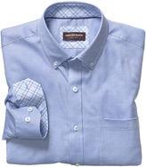 Johnston & Murphy Micro Box Neat Button-Down Collar Shirt