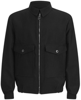 Versace Collection Pocket Detail Jacket Black