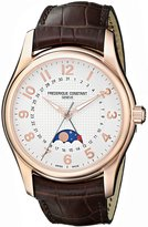 Frederique Constant Men's FC330RM6B4 Runabout Analog Display Swiss Automatic Brown Watch