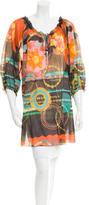 M Missoni Sheer Printed Tunic w/ Tags