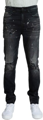 PRPS Warlock Ripped Skinny Fit Jeans
