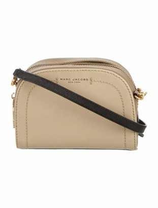 Marc Jacobs Leather Crossbody Bag Gold