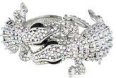 Kenneth Jay Lane Crystal Double Lizard Cuff