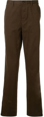 Kent & Curwen Mid-Rise Tapered Leg Trousers