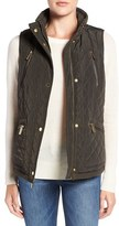 MICHAEL Michael Kors Petite Women's Diamond Quilted Vest