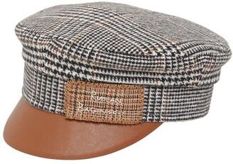Ruslan Baginskiy Monogram Embroidered Baker Boy Hat