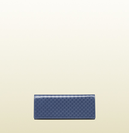 Gucci Broadway Microguccissima Leather Evening Clutch