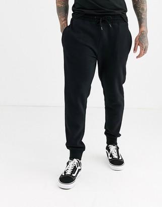 Topman joggers in black