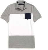 Tommy Hilfiger Custom Fit Colorblocked Polo