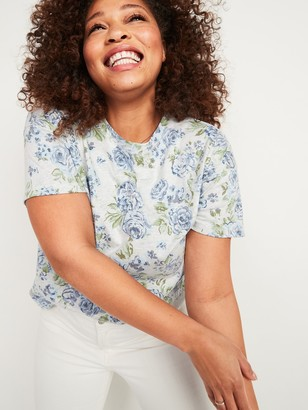 Old Navy Loose Vintage Crew-Neck Tee for Women