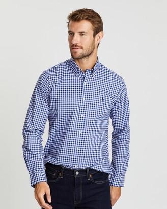 Polo Ralph Lauren Stretch Poplin Custom Fit Sport Shirt