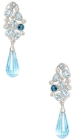 Rina Limor Fine Jewelry Blue & White Topaz Drop Earrings