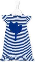 Il Gufo striped dress - kids - Cotton/Spandex/Elastane - 9 mth