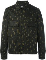 Paul Smith camouflage print jacket