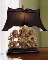 Vince Lion Crest Lamp