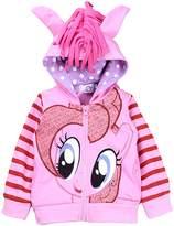 SummitLink® My Little Pony Girls' Rainbow Pinkie Dash Hoodie