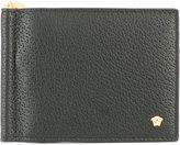 Versace Medusa money clip wallet - men - Leather - One Size