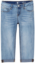 7 For All Mankind Skinny Crop And Roll Jean (Big Girls)