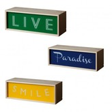 Seletti Sale - Smile/Live/Paradise Light Box