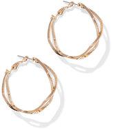 New York & Co. Crisscross Hoop Earring