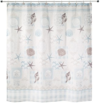 Avanti Cottage Shell Shower Curtain