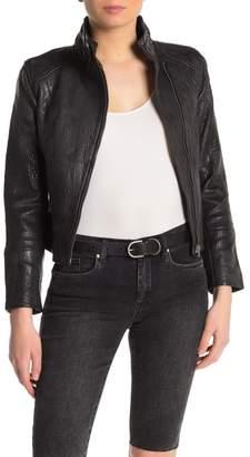 Joe's Jeans Lacy Leather Moto Jacket