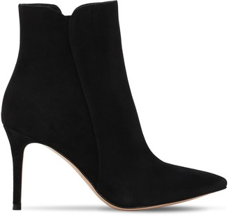 Gianvito Rossi 85mm Levy Suede Ankle Boots