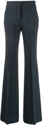 Piazza Sempione high waisted flared trousers