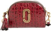 Marc Jacobs Small Shutter Leather Crossbody Bag