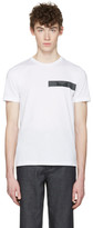 Fendi White 'Bag Bugs' T-Shirt