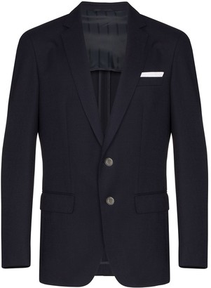 HUGO BOSS Hartley single-breasted blazer