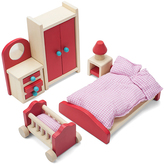 Pink & Red Cozy Family Doll Bedroom Set