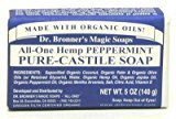 Dr. Bronner's Dr. Bronners Bar Peppermint 5oz. Soap (6 Pack)