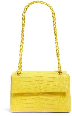 Nancy Gonzalez Mini Crocodile Madison Shoulder Bag
