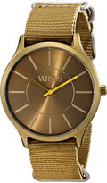Versus By Versace Women's SO6020013 Less Analog Display Quartz Bronze-Tone Watch