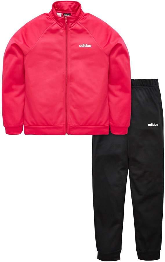 3f2ab7d361 Girls Adidas Tracksuit - ShopStyle UK