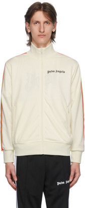 Palm Angels Off-White Rainbow Classic Track Jacket