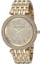 Michael Kors MK3438 Crystal Dial Bezel Gold Tone 39mm Womens Watch