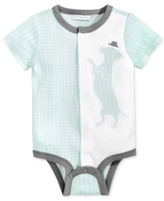 First Impressions Dog Cotton Snap-Up Bodysuit, Baby Boys (0-24 months), Created for Macy's
