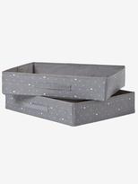 Vertbaudet Set of 2 Changing Table Storage Boxes