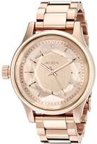 Nixon Women's A409897 Facet 38 Rose Gold-Tone Stainless Steel Watch