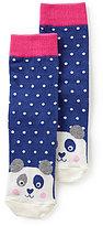 Joules Girls' Panda Character Socks