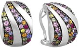 Effy Jewelry Effy 925 Multi Sapphire Earrings, 2.62 TCW
