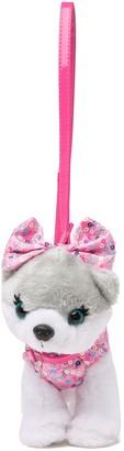 Confetti Pom With Sequin Bow Poochie Purse
