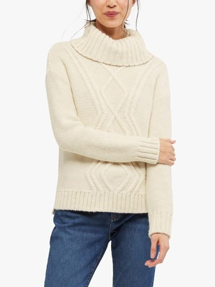 White Stuff Arley Cable Knit Jumper