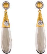 Gurhan Smoky Quartz & Diamond Candy Splash Drop Earrings